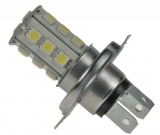LED žárovka 12V s paticí H4 18LED/3SMD