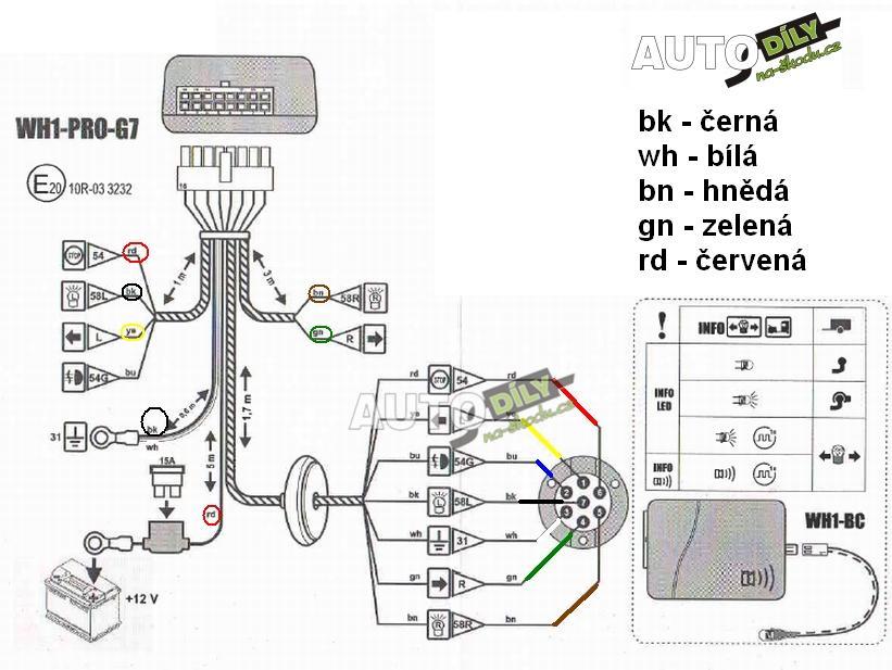 Elektrokabelaz K Tz Can Bus 7pol Wh 1 Autodily Skoda Naradi